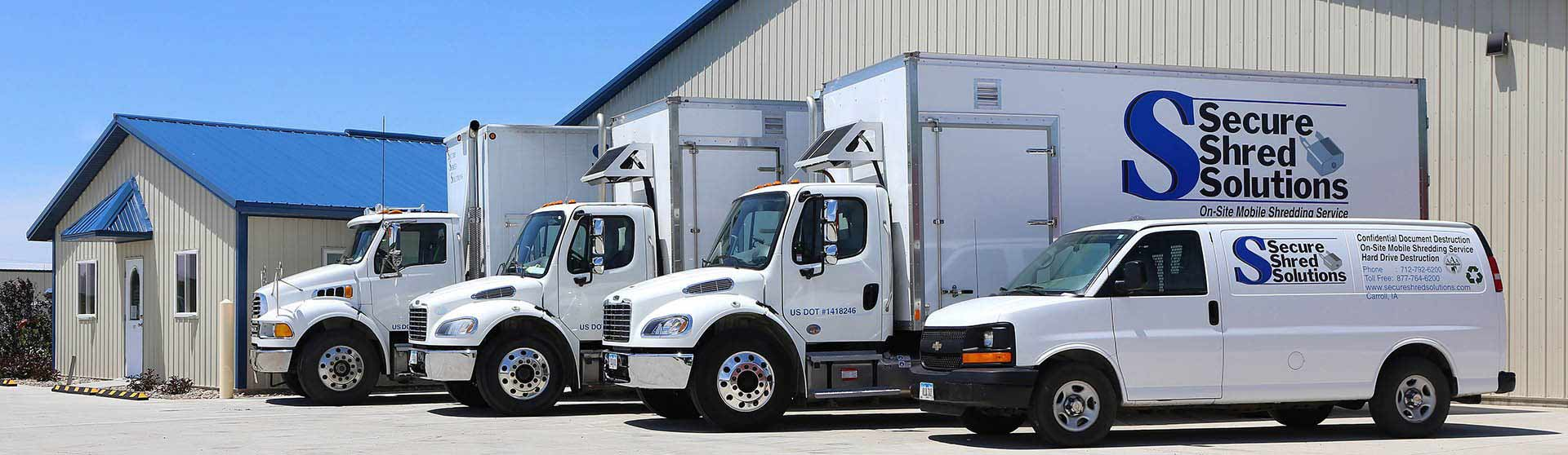 Secure Shred Solutions Document Shredding Iowa